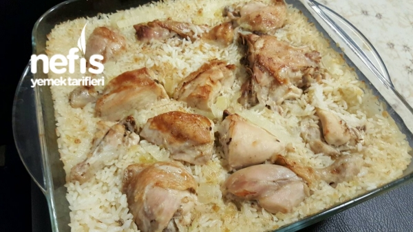 Büryan Pilavı (Tavuk Kapama)