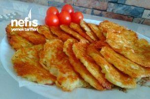 Kahvaltılık Kaşarlı Patates Mücveri Tarifi