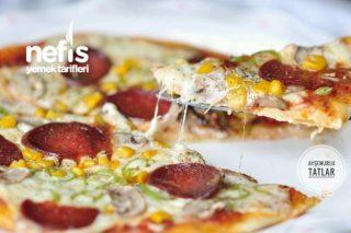 İnce Hamur Nefis Pizza Tarifi