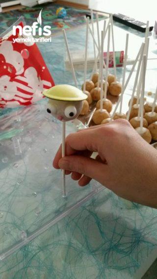 İnşaat İşcisi Cake Popu (pop Kek)