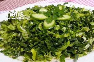 Kuzu Ispanaklı Salata Tarifi
