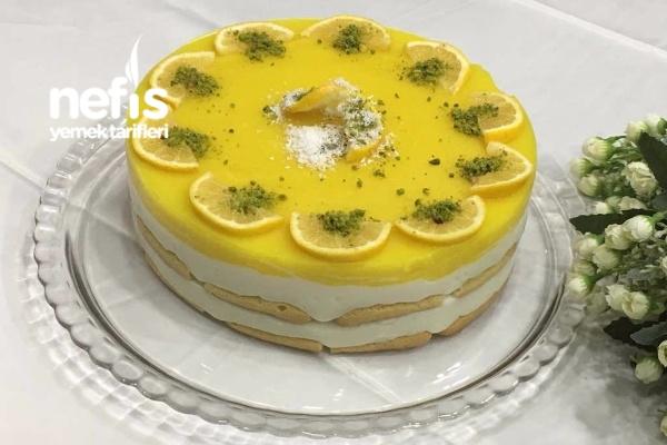 Limonlu Kedidilli Hafif Pasta Tarifi