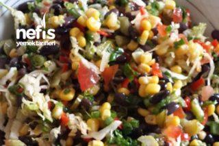Siyah Fasulye Salatası Tarifi