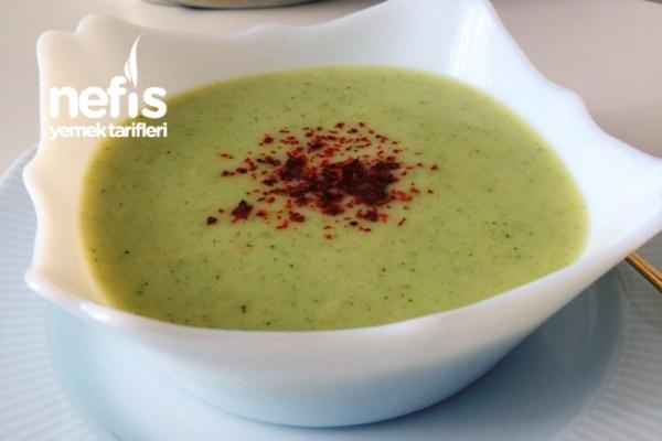 Sütlü Brokoli Çorbası (videolu)