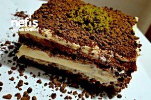 Enfes Çikolatalı Kremalı Pasta ( Aşama Aşama ) Tarifi