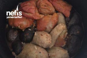 Karışık Kuru Dolma (Patlıcan, Biber, Kabak)