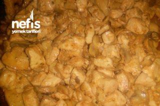 Kremalı Mantarlı Tavuk Sote (Mükemmel Lezzet) Tarifi