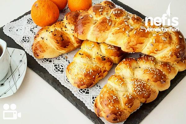 Portakallı Paskalya Çörek Videosu