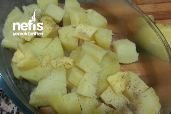 Çay Saatine Pratik Patates