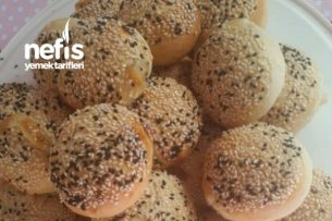 Simit Tadında Peynirli Poğaça Tarifi Videosu 69