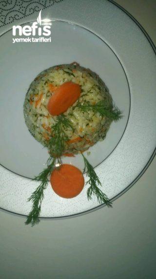 Havuçlu Dereotlu Pirinç Pilavı