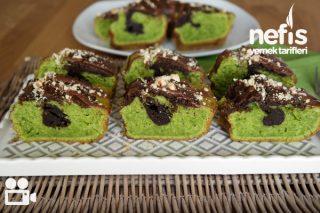 Ispanaklı Kakaolu Kek Videosu Tarifi