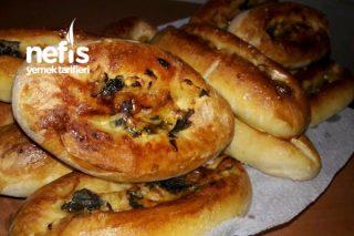 Ispanaklı Peynirli Pidecikler (5 Malzemeli) Tarifi