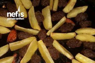 Elma Dilimli Köfte (Hafif Akşam Yemeği) Tarifi