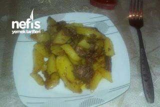 Etli Patates Kızartması (Farklı) Tarifi