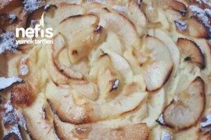 Elma Dilimli Rüya Pasta Tarifi