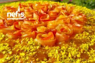 Elmalı Güllü Pasta Tarifi