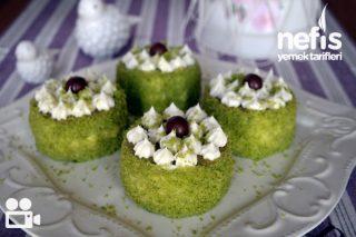 Ispanaklı Mini Pasta Videosu Tarifi