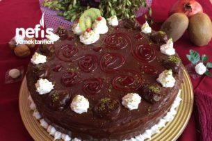 Enfes Çikolatalı Pasta (Pastane Usulü) Tarifi