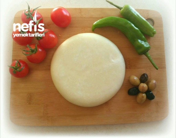 Evde Kaşar Peyniri Yapımı(Aşama Aşama Fotoğraflı)