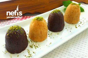 Çikolatalı İrmik Helvası (Harika) Tarifi