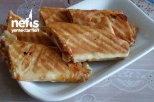 Lavaştan Tost (Suriye Ekmeği Lavaşı) Tarifi