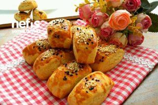 Mahlepli Nişastalı Kıyır Çörek Tarifi