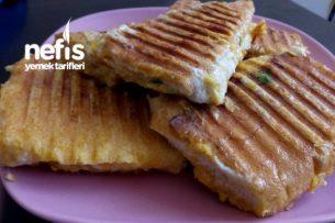 Tost Makinasında Yumurtalı Ekmek Tarifi