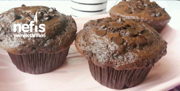 Bol Çikolatalı İçi Akışkan Muffin ( Pastane Tadında )