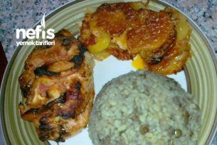 Fırında Lokum Tadinda Tavuk Göğsü