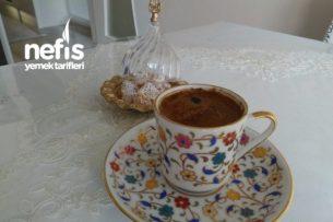 Tatlı Severlere Vanilyalı Türk Kahvesi Tarifi