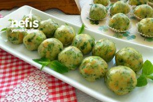 Top Şeklinde Patates Salatası Tarifi