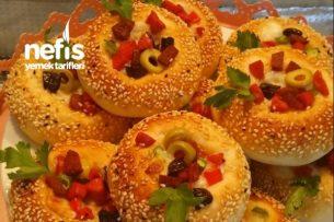 Simit Pizza (Puf Puf) Tarifi