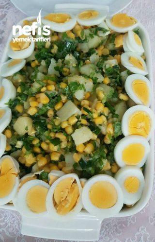 Kahvaltilik Patates Salatasi