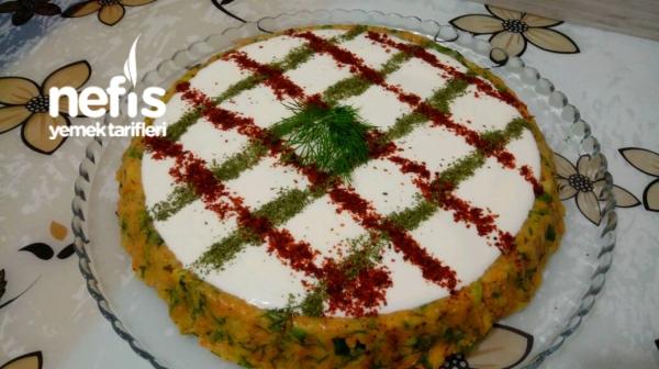 Tart Kalıbında Patates Salatası..Harikaa..