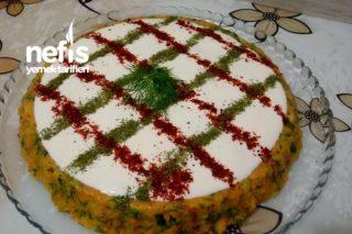 Tart Kalıbında Patates Salatası..Harikaa.. Tarifi