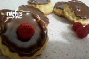 Çikolatalı Böğürtlenli Enfes Kurabiye Tarifi
