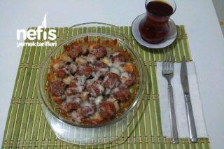 Bayat Simitle Kolay Pizza Tarifi