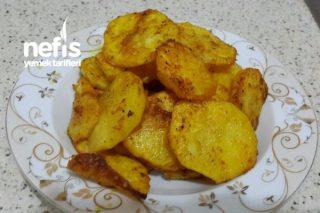 Fırında Patates Kızartması (Zerdeçallı) Tarifi