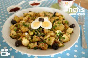 Patates Salatası Videosu Tarifi