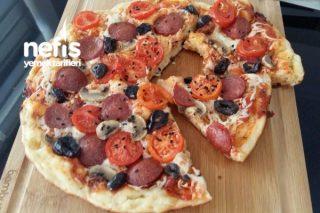 Şipşak Pizza (Tavada) Tarifi