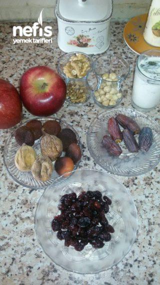 Meyveli Diyet Kek (Efsane Lezzet )