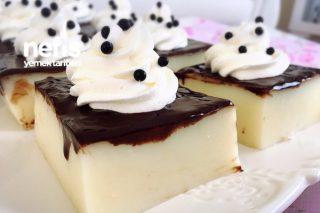 Çikolata Soslu Sütlü Tatlı Tarifi