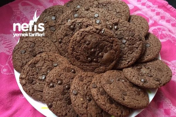 Çikolatalı Fındıklı Cookies (Kurabiye) Tarifi