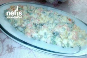 Rus Salatası (Ev Yapımı Garnitürlü) Tarifi