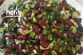 5 Dakika Şipşak Salatam (Meksika Fasülye Salatası) Tarifi