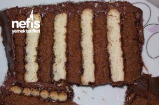 İki Renkli Pratik Pasta Tarifi