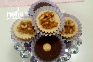 İkramlık Kuruyemişli Çikolatalar Tarifi