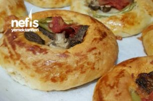 Mayalı Pizzacıklar Tarifi
