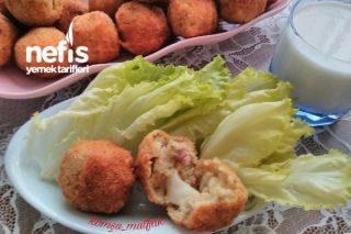 Pastırmalı Patates Köftesi Tarifi